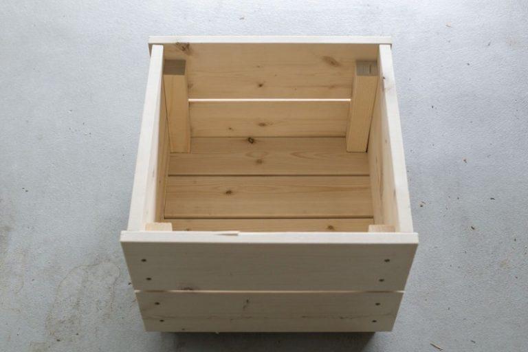 Деревянные ящик сделать своими руками 86