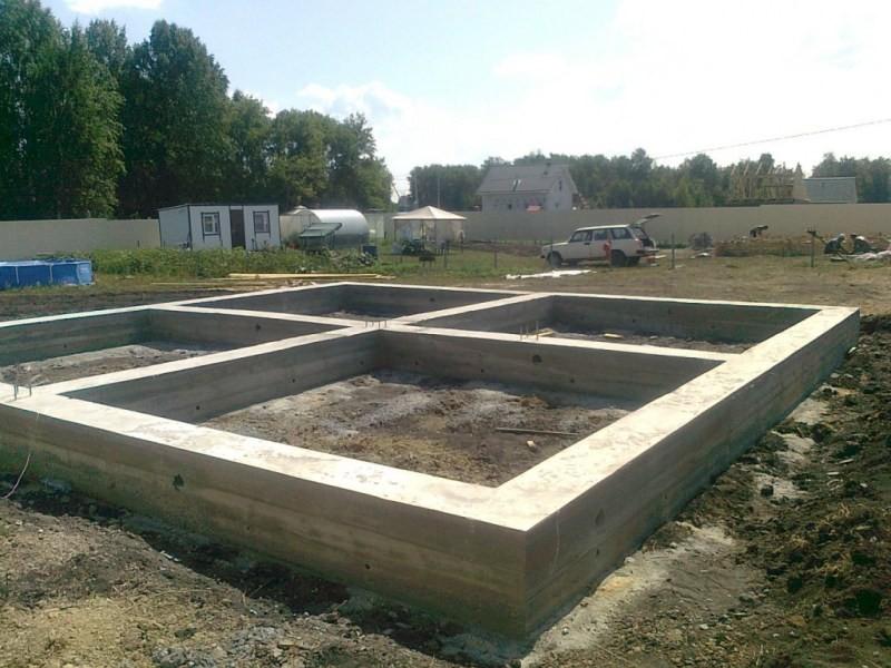 Какой фундамент выбрать под строительство бани