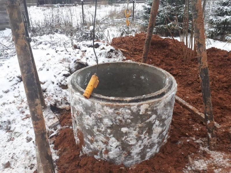 Выкопать колодец своими руками одному 57