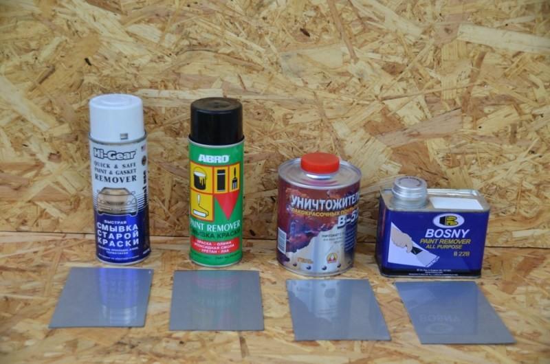 Как сделать смывку для старой краски