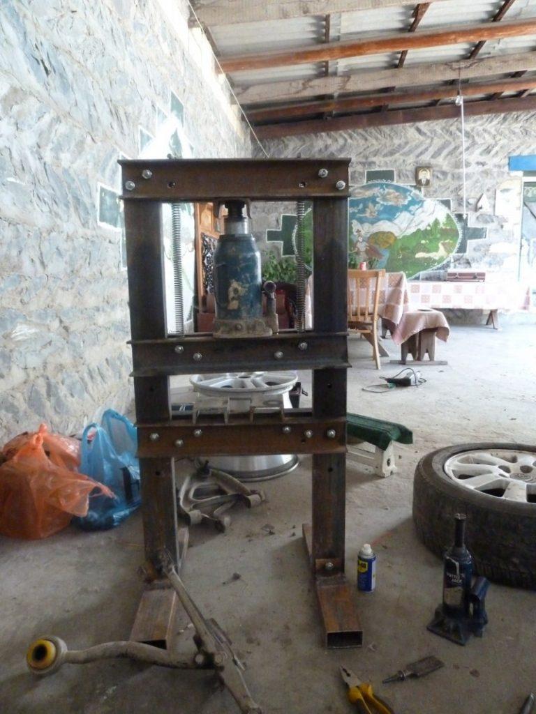 Гидравлический пресс своими руками фото фото 498