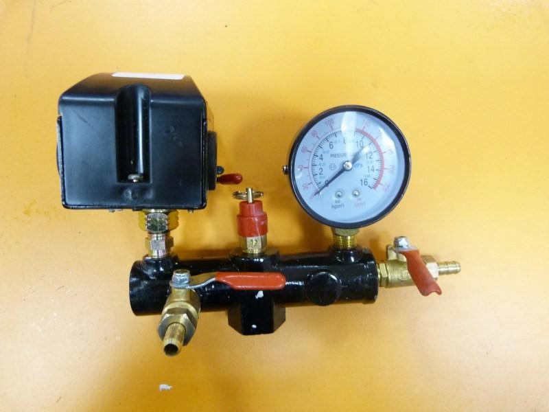 Регулятор давления воздуха для компрессора с манометром своими руками 32