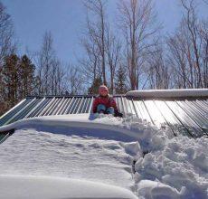 Уборка снега с крыши в челябинске