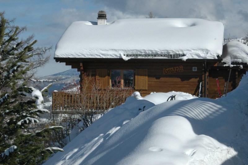 Очистка снега с крышей