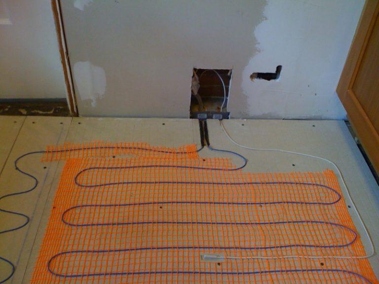 Как сделать электро тёплый пол 199