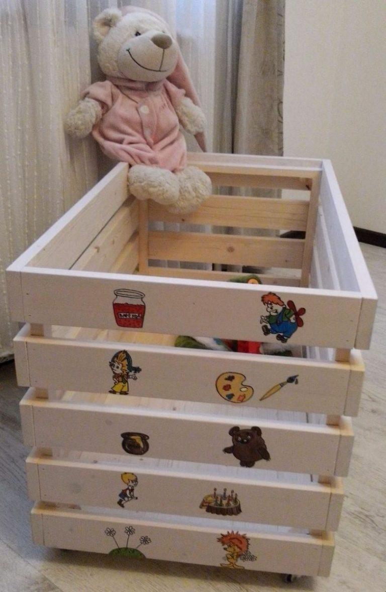 под ящик для игрушек своими руками фото новом