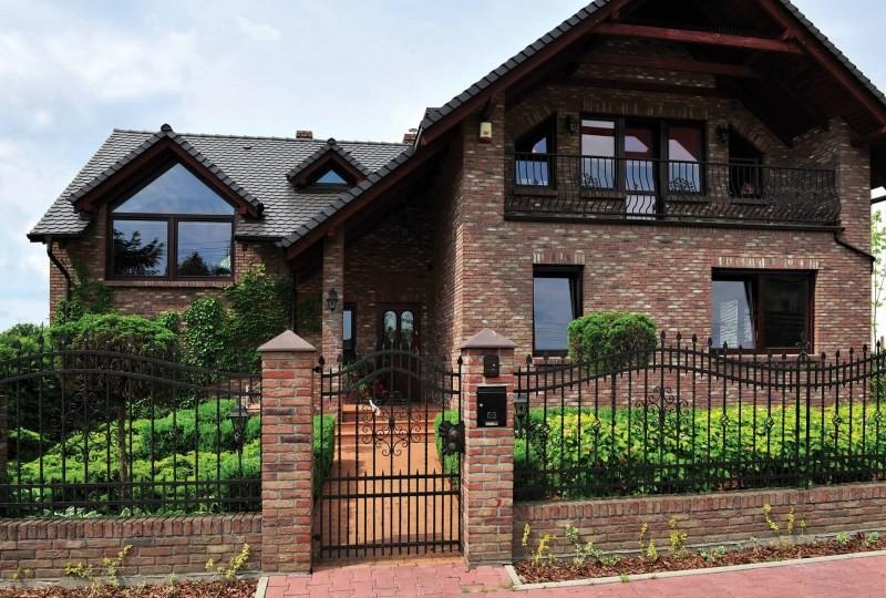 Кирпичные Дома - 33  фото Идей Облицовки и дизайна из Кирпича