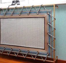 Экран для батареи отопления своими руками