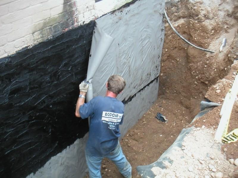 гидроизоляция стен снаружи своими руками