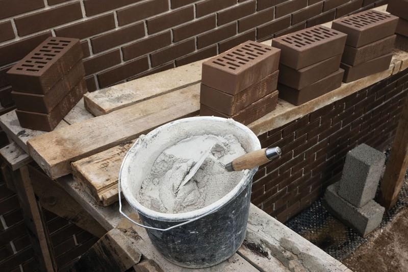 как правильно класть цемент