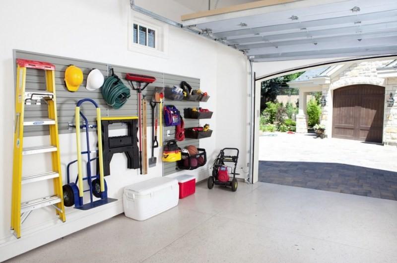 Шесть советов по организации вашего гаража