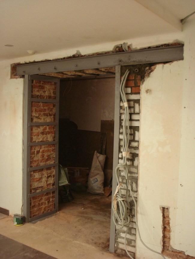 устройство арок в несущих стенах