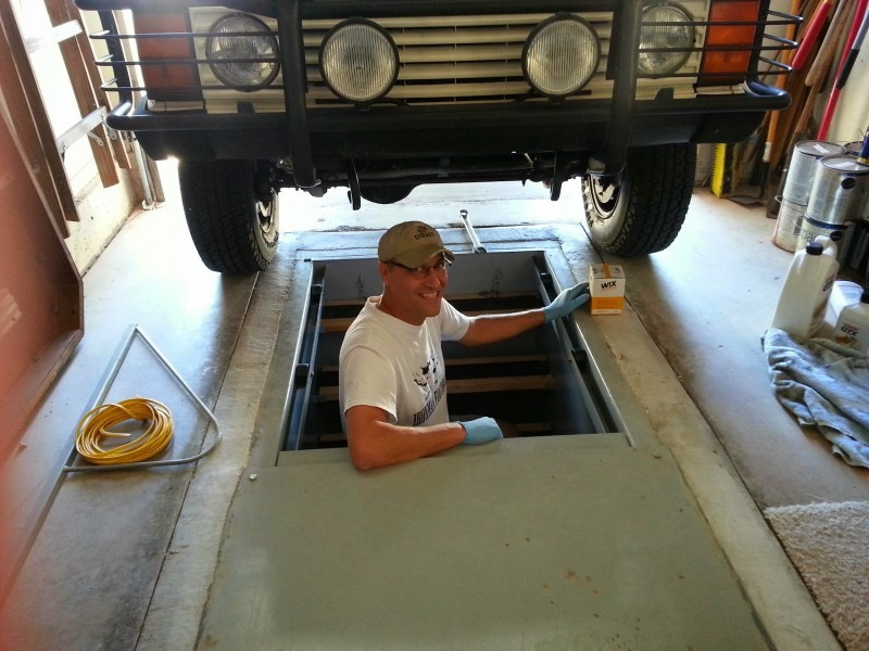 Яма для гаража размеры